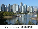 vancouver bc waterfront false... | Shutterstock . vector #88820638