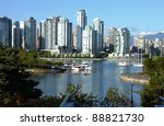 vancouver bc waterfront false... | Shutterstock . vector #88821730