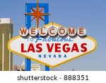 welcome to las vegas daytime... | Shutterstock . vector #888351