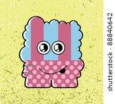 monster   Shutterstock .eps vector #88840642