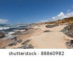 Pacific Ocean Coast Near Pigeo...