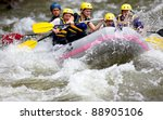 Group Of People Whitewater...