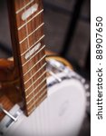 vintage banjo for sale at a...