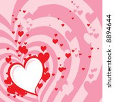 valentine's background  also... | Shutterstock . vector #8894644