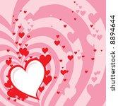 valentine's background  also... | Shutterstock . vector #8894644