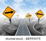 clear strategy and solutions... | Shutterstock . vector #88995475