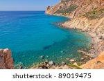 milos island east coast... | Shutterstock . vector #89019475