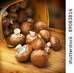 Champignon Mushrooms With Brown ...