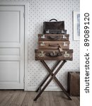 Vintage Suitcases Nicely...
