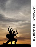 Silhouette Of Indian Cultural...
