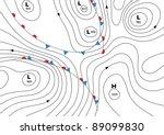 editable vector illustration of ... | Shutterstock .eps vector #89099830