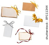 collection of  various card... | Shutterstock . vector #89111344