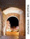 Ibiza Castle Fort Door To Dalt...