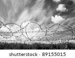 Lost Freedom Behind Barbed Wire....