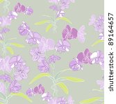 orchid seamless background   Shutterstock . vector #89164657
