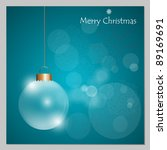 christmas background with...   Shutterstock .eps vector #89169691