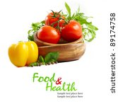 fresh vegetables | Shutterstock . vector #89174758