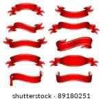 vector illustration of the red... | Shutterstock .eps vector #89180251