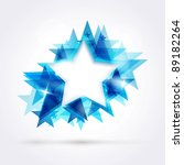 abstract star background....   Shutterstock .eps vector #89182264