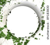 3d Round Ivy Wall  Frame...