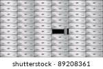 safe deposit box | Shutterstock .eps vector #89208361