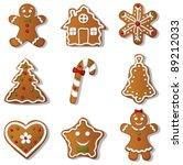 Gingerbread Set