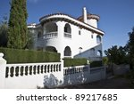 Villa in Alcossebre. Spain - stock photo