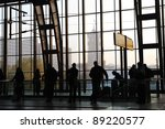 people waiting on train station | Shutterstock . vector #89220577