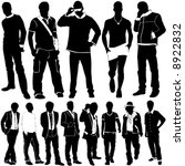 fashion men vector | Shutterstock .eps vector #8922832
