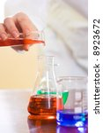analyzing process in laboratory ... | Shutterstock . vector #8923672