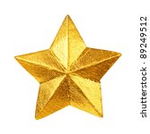 Golden Christmas Star Ornament...