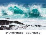 Turquoise Rolling Wave Slammin...