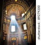 st. peter's basilica  the...   Shutterstock . vector #89279200