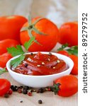 tomato sauce  ketchup with... | Shutterstock . vector #89279752