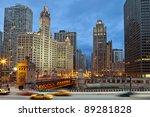 Chicago Riverside. Image Of...