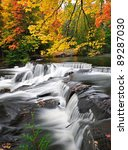 Michigan Autumn Waterfall  Bond ...