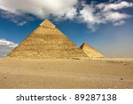 The Pyramids Of Khufu And...