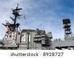 USS Midway aircraft carrier located in San Diego California