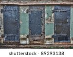 Old Rusted Doors