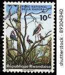 Rwanda   Circa 1969  A Stamp...