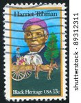 Small photo of UNITED STATES - CIRCA 1978: stamp printed by United States, shows Harriet Tubman, circa 1978