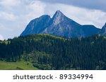 the giewont peak  tatra... | Shutterstock . vector #89334994