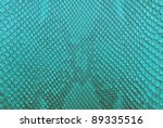 turqouise python snake skin... | Shutterstock . vector #89335516
