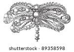 old engraved illustration of... | Shutterstock .eps vector #89358598