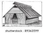old engraved illustration of... | Shutterstock .eps vector #89363599