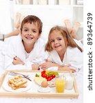 Happy Healthy Kids Having A...