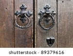 tower of london   door knocker | Shutterstock . vector #89379616