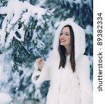 The Beautiful Woman In Winter...