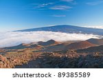 View Of Mauna Loa From The...
