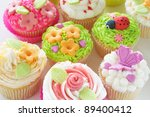 Vanilla Cupcakes With...